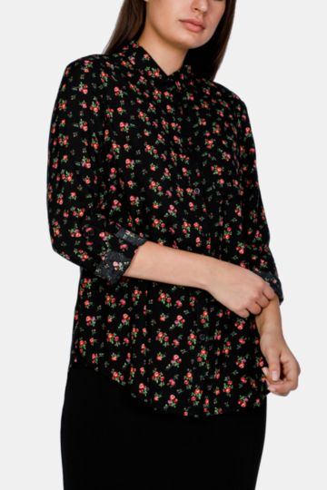 Floral Slouchy Shirt