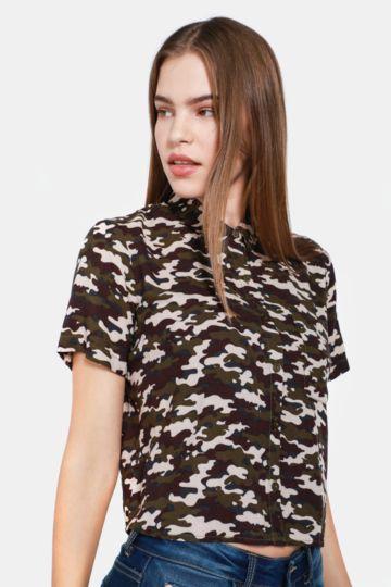 Camo Boxy Shirt