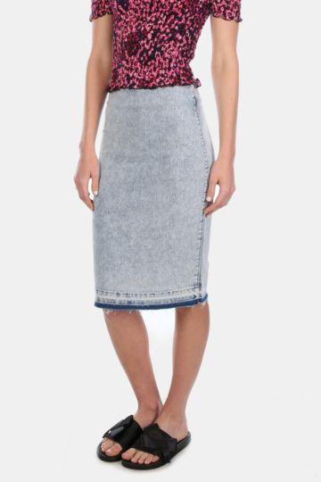 Denim Bodycon Skirt