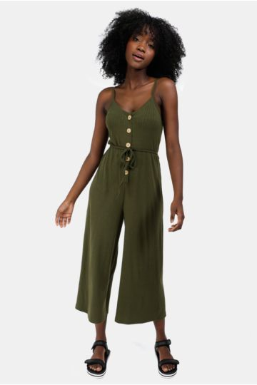 Button Up Jumpsuit