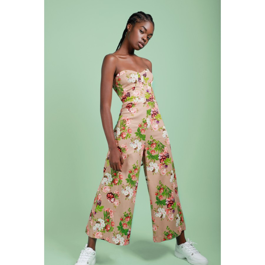536511ee7f Floral Strapless Jumpsuit - Jumpsuits   Playsuits - Shop by Category -