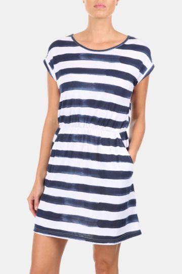 Stripe Easy Waisted Dress
