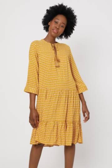Pattern Trapeze Dress