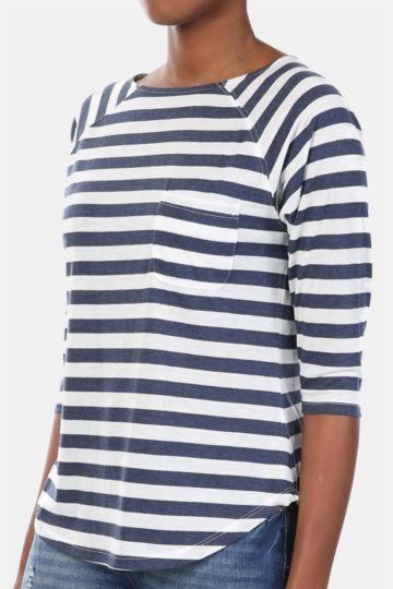 Stripe Slouchy Top