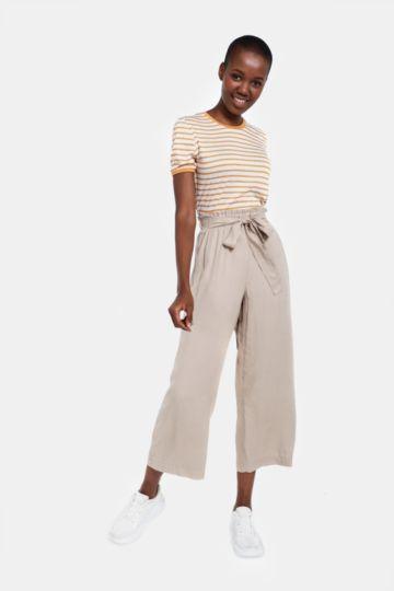 Paperbag Culotte Pants
