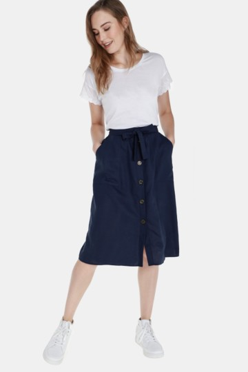 f39c384ad6 Button Up Skirt