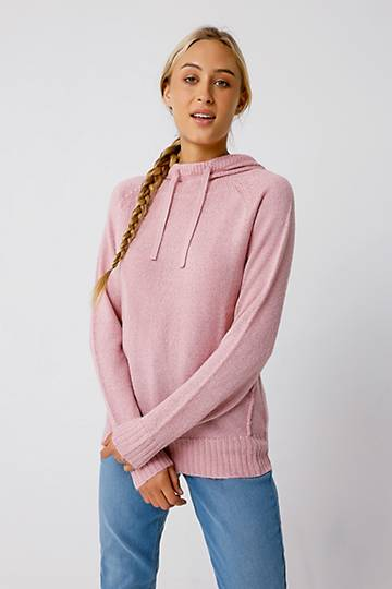 Hooded Slouchy Pullover