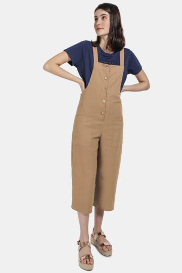 Button Up Dungaree