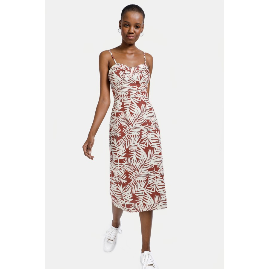 catch arriving limited guantity Floral Midi Dress - Dresses - Shop by Category - Ladies