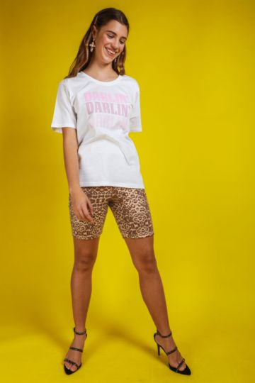 Animal Print Cycle Shorts
