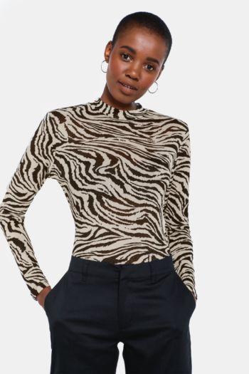 Animal Pattern Top