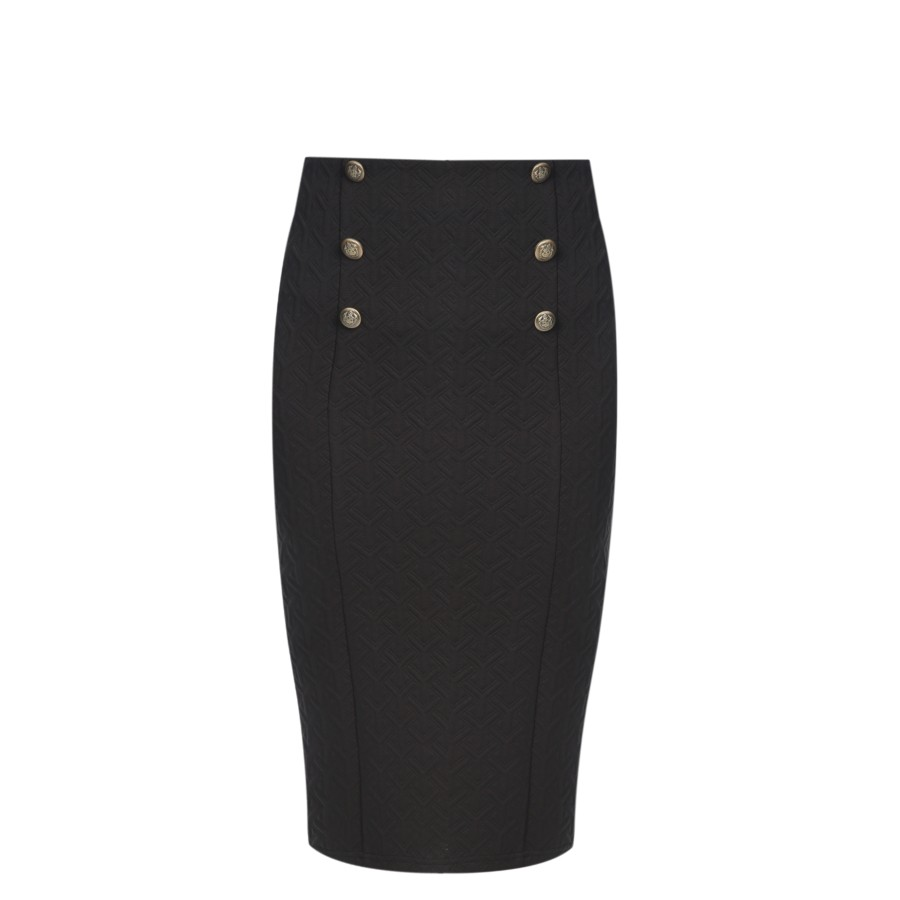 2dde452082 Military Pencil Skirt