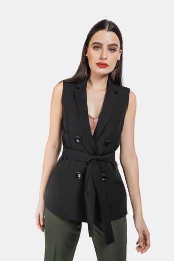 Collared Gilet