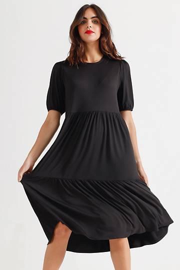 Knit Trapeze Dress