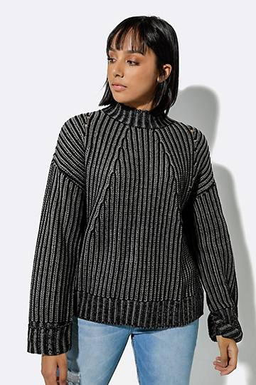 Poloneck Pullover