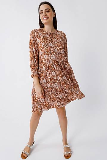 Floral Trapeze Tunic