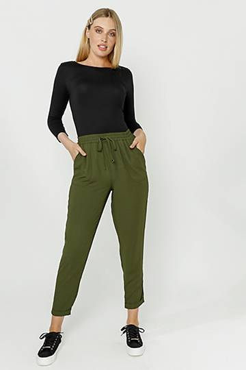 Pull On Woven Pants