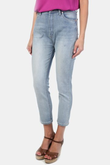 Straight Fit Denim Jeans