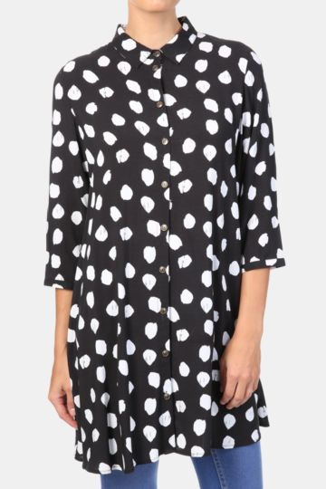 Spot Longer Length Shirt
