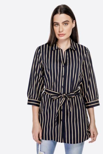 Stripe Slouchy Shirt