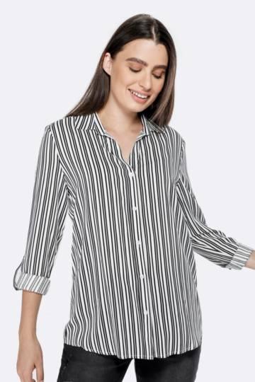 Slouchy Stripe Shirt