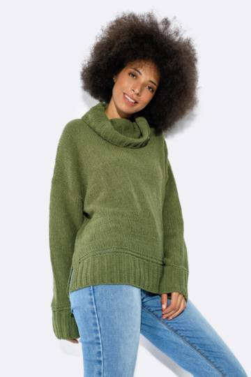 Oversized Turtle Neck Pullover