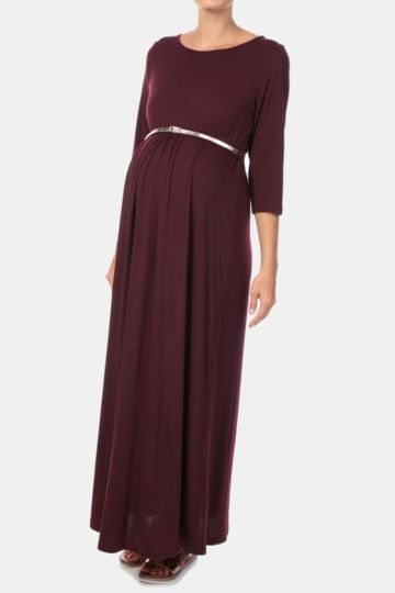 Belted Maxi Dress