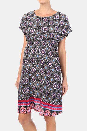 Geo Babydoll Dress