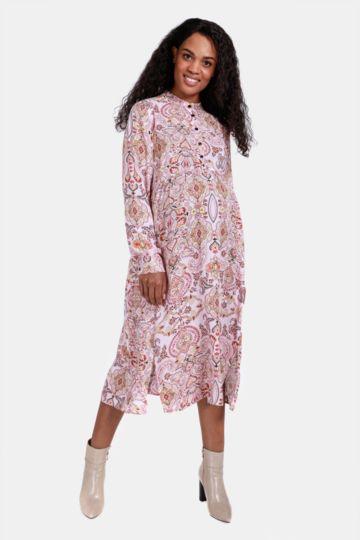 Printed Maternity Dress