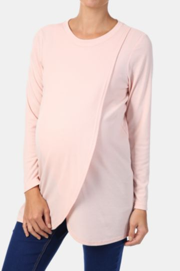 Wrap Front Nursing Tunic