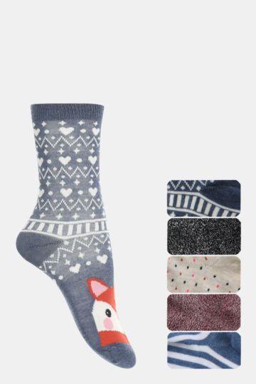5 Pack Anklet Socks