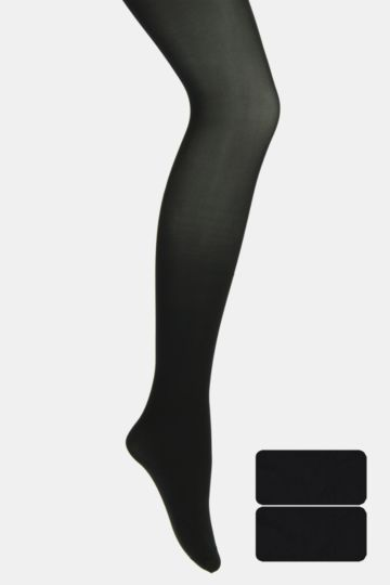 2 Pack Opaque Tights