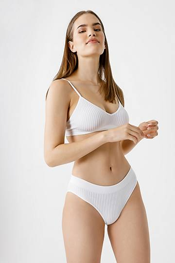 Ribbed Bikini