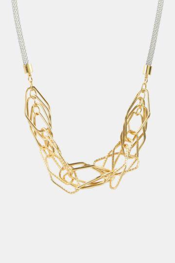Hexagon Link Necklace