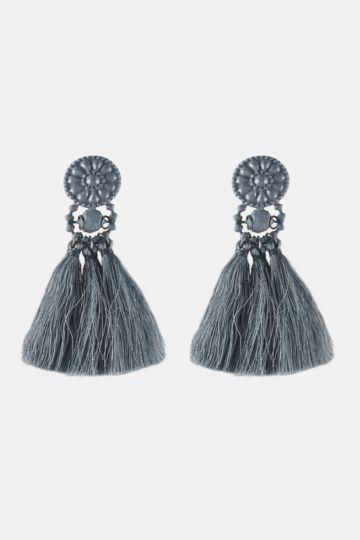 Drop Tassel Earrings