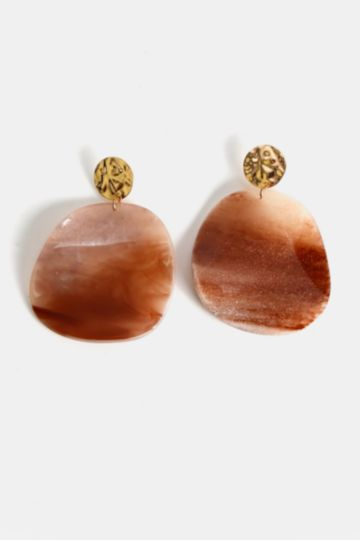 Drop Perspex Earrings