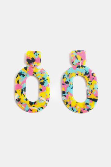Drop Perspex Earrings