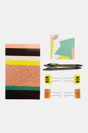 Abstract Stationery Set