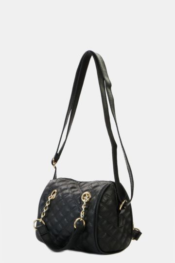 Quilted Bowler Bag