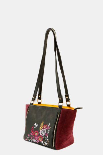 Embroidered Sling Bag