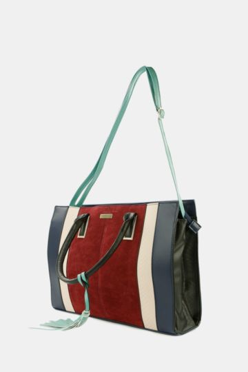 Colourblock Shopper