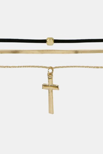 Cross Choker Set