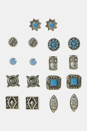 Aztec Earings Multipack