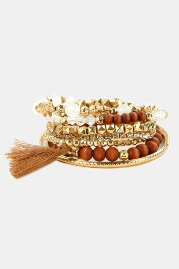 Beaded Bangle Pack