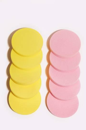 10 Pack Make- Up Sponges
