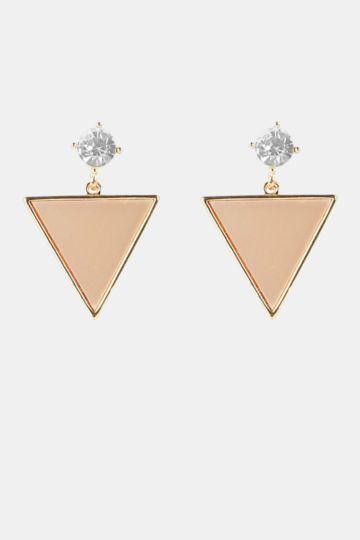Drop Triangle Earings