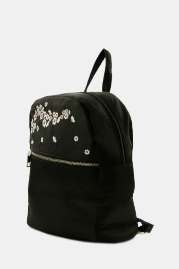 Embroided Backpack