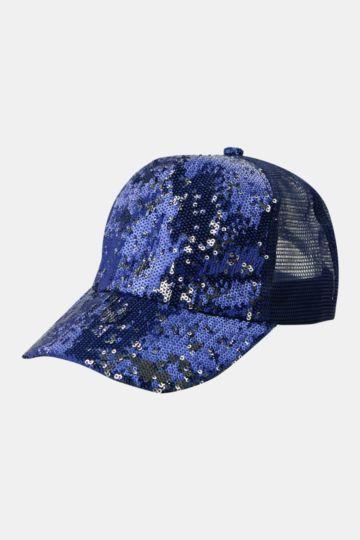 Sequin Baseball Cap