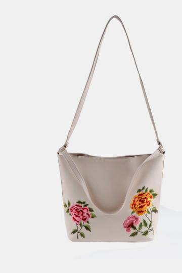 Floral Shopper Bag