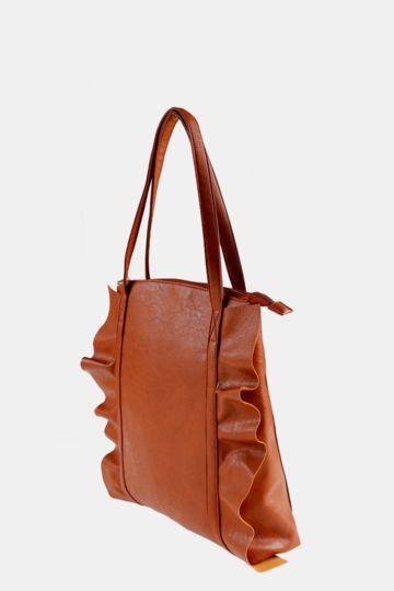 Frill Shopper Bag